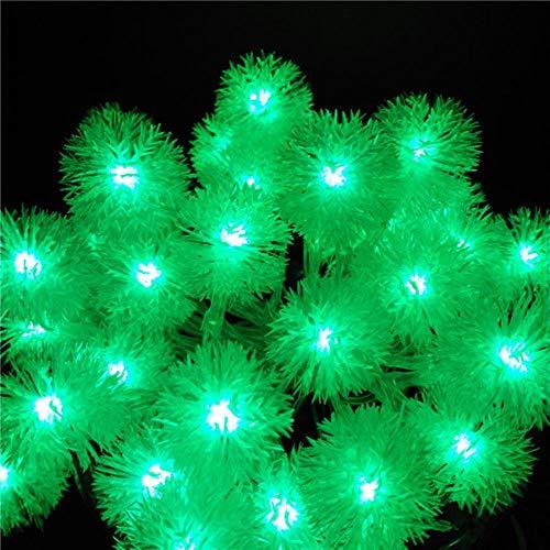 Opak 3M Holiday Schneeball Lichterketten AA Batterie Event Hochzeitsfeier Dekoration Beleuchtung, grün