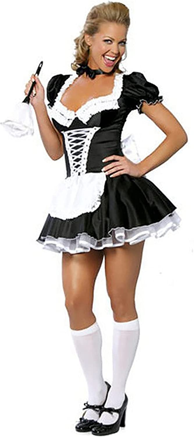 Halloween All items free shipping Women's Sexy Lingerie C Cosplay Costume New popularity Maid