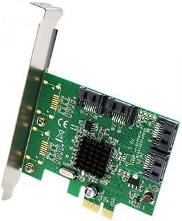 IO Crest SI-PEX40108 PCI-Express 2.0 x1 Low Profile SATA 4 Port SATA III PCI-e 2.0 x1 Card
