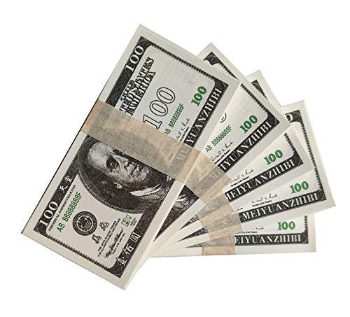 200 Stück Ahnen-Geld zum Verbrennen von Million Dollar Chinesisches Joss Papier Himmel Banknoten Geist Geld, 7,5 x 15,5 cm