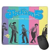 マウスパッドジャクソン5ゲームマウスパッドはゲームワーク学習デザインに適しています