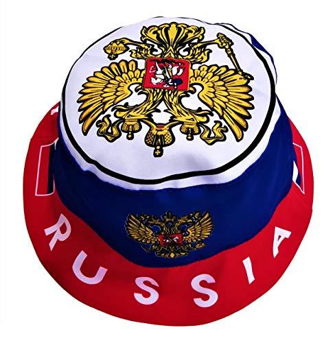 Generisch Russland/Russia Sonnenhut, Fischerhut, Anglerhut, Fanhut