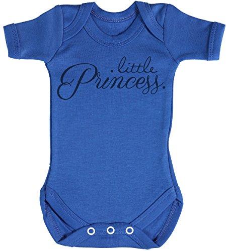 Baby Buddha Little Princess. Body bébé - Gilet bébé - Body bébé Ensemble-Cadeau - Naissance Bleu