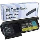 Trade-Shop Premium Li-Ion Akku 10,8V/11,1V 4400mAh für IBM Lenovo ThinkPad X220t X220 Tablet ersetzt 42T4881 ASM-42T4882 FRU-42T4881 45N1077 42T4903