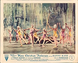 Nostalgia Store Hans Christian Andersen Danny Kaye Original Lobby Card Zizi Jeanmarie Ballet