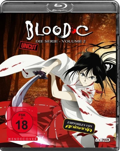 Blood-C - Die Serie, Volume 2 (Uncut) [Blu-ray]