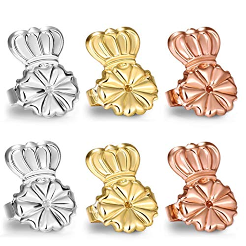Original Magic Earring Backs for Droopy Ears   Earring Lifters for Heavy Earring   Earing Lifter Backs BAX   Earlobe Secure Clear Miracle