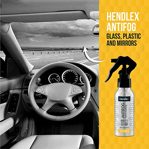 51C3WN4649L - Hendlex Anti Fog Spray for Goggles, Car Windshield Treatment and Bathroom Mirror Multi Purpose and Long Lasting 3.38