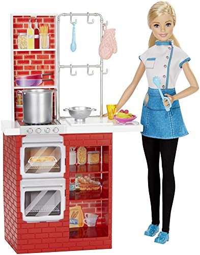 Chef Barbie Restaurant Cuisine le Spaghetti - 3