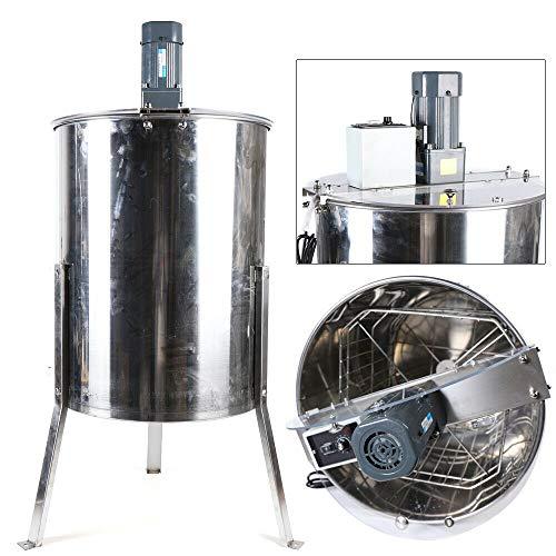 Centrifugador de miel eléctrico de acero inoxidable, 4 marcos de panal, extractor...