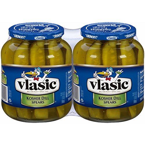 Vlasic Kosher Dill Spear Pickles, 32 oz., 2 ct. (pack of 2)
