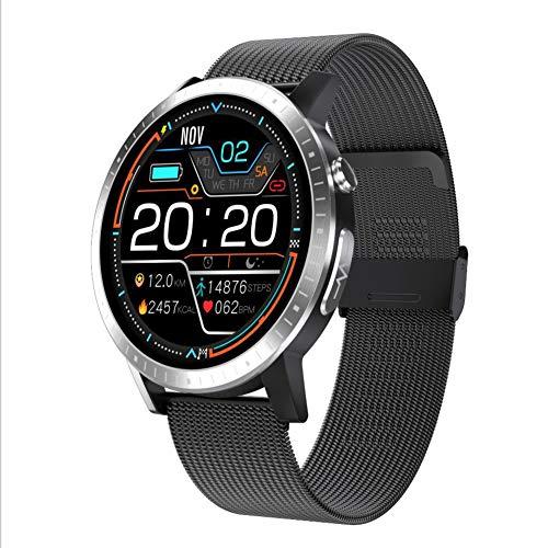 Rastreador De Fitness Smart Watch con Oxígeno En Sangre Presión Arterial Monitor De Frecuencia Cardíaca IP68 Impermeable,A