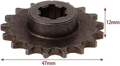 planuuik 47cc 49cc Motocicleta T8F 8mm 11 14 17 20 Diente Pi/ñ/ón Delantero Pi/ñ/ón De Cadena