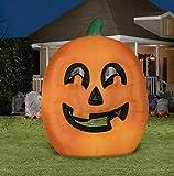 Gemmy 9.5ft Giant Halloween Pumpkin Jack O Lantern Airblown Inflatable Indoor/Outdoor Holiday Decoration
