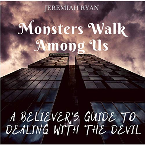 Monsters Walk Among Us audiobook cover art