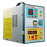 Spot Welder – Battery Welding Machine SUNKKO 788S Pro – Portable Spot Welder Handheld – Portable Soldering Station 3.2KW for 4 Rows of 18650 Batteries – Welder with Pen and Foot Pedal