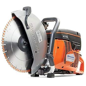 Husqvarna 967682101 K 770 Gasoline Grinder  Orange