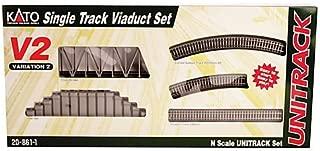 Kato USA Model Train Products V2 UNITRACK Single Track Viaduct Set