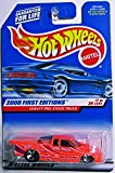 2000 First Editions #7 Chevy Pro Stock Truck Light Purple In Tampo #2000-67 Collectible Collector Car Mattel Hot Wheels 1:64 Scale by Hot Wheels