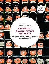 طرق quantitative الأساسية: لجهاز إدارة الأعمال ، و finance
