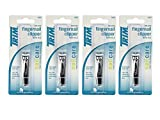 Set of 4 Trim Deluxe Fingernail Clippers with File bundled by Maven Gifts