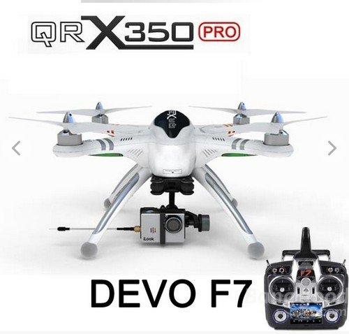 Xiangtat Walkera QR X350 Pro FPV GPS RC Quadcopter Drone DEVO F7 iLook+ camera G-2D gimbal For Gopro 3 RTF