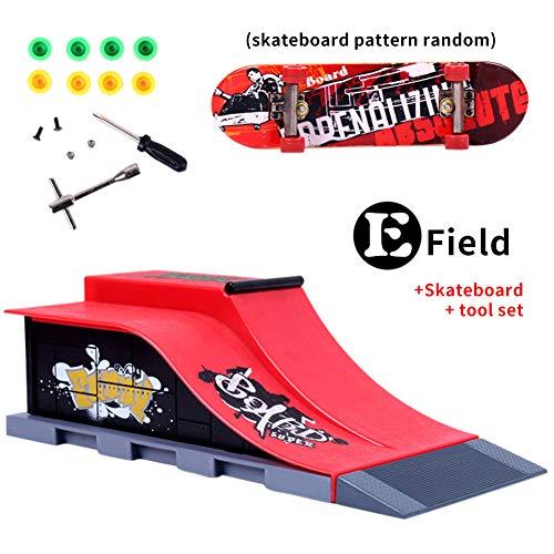 Cicony Skate Park Kit, Mini-Board mit Rollen und Fingern für Kinder