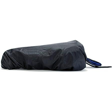 LuchinoVisconti Phish Waterproof Bike Seat Rain Cover with Drawstring Rain and Dust Resistant