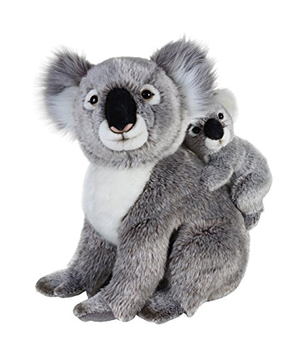Lelly 770761 - National Geographic Koala con Baby, Altezza 37 cm