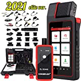 LAUNCH X431 DIAGUN V BiDirectional Scan Tool Full System Diagnostic Tool,ECU Coding,Actuation Test,31+ Reset Functions,1 Years Free Update + TPMS Tool EL50448,2021 Elite Version