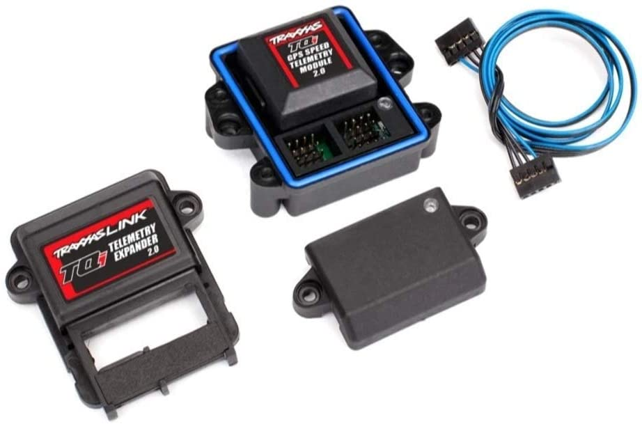 Traxxas TRA6553X Telemetry Expander Max 89% OFF 2.0 and GPS Denver Mall Module TQi