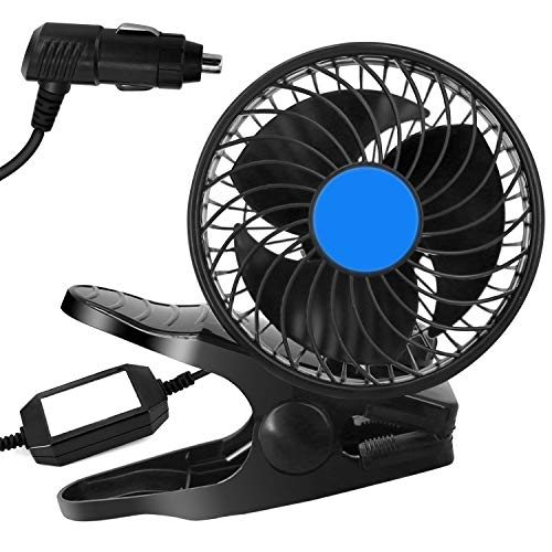 2020 New Car Fan, Newest Portable 12V Mini Electric Car Fan, Adjustable Vehicle Cooling Fan ,with Adjustable Clip & Cigarette Lighter Plug On Auto Cooling Air Fan - For Sedan SUV & Vehicle & RV
