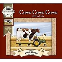 The Lang Companies 2021 Cows Cows Cows Cows スペシャルエディション 壁掛けカレンダー