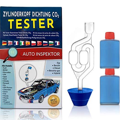 Junta de Culata de Prueba de Agua fría Co2 Universal para Coches, Camiones, Motos para Gasolina diésel y Gasolina híbrida