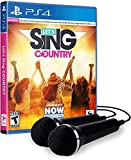 Let's Sing Country - PlayStation 4 2-Mic Bundle Edition