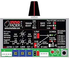 Audio Innovate innofader pnp2 for the Rane Seventy-Two DJ mixer includes RANE Seventy Two Adapters for both channel and cross faders