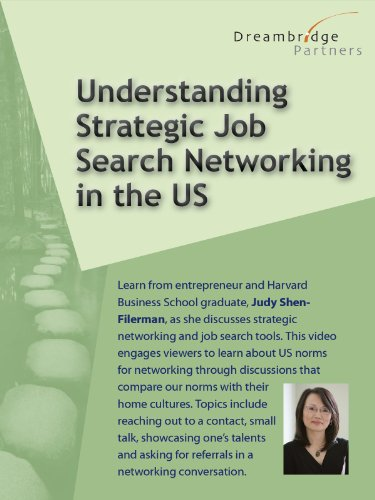 Understanding Strategic Job Search Networking in the US