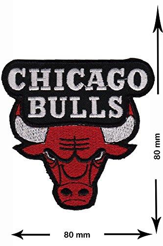 Patch Parches - Chicago Bulls - NBA - Basketball - USA Parche Termoadhesivos - Parche Bordado - Termoadhesivo Apliques