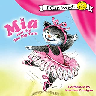 Mia and the Too Big Tutu cover art