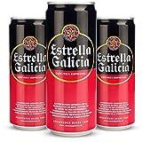 Estrella galicia especial cerveza - pack de 24 latas x 330 ml - total: 7. 92 l