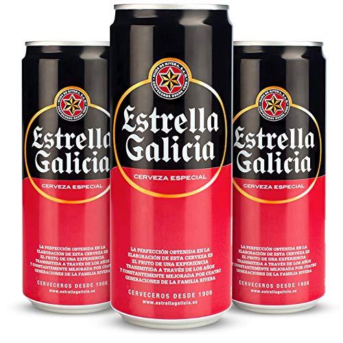 Estrella Galicia Especial Cerveza, 24 x 330ml