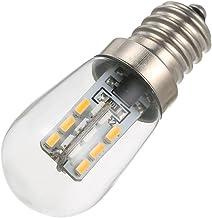 Gecheer LED Mini Refrigerator Light Fridge Lamp E12 Bulb Base Socket Holder SMD3014