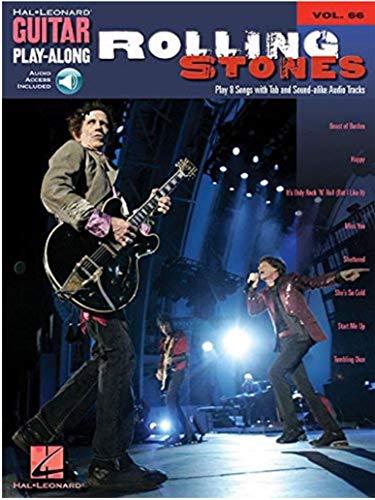 THE ROLLING STONES VOLUME 66 BK CD (Hal Leonard Guitar Play-Along) (English Edition)