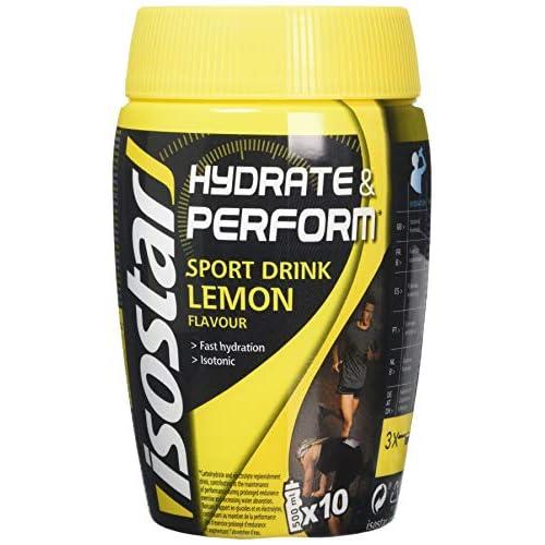 51C3gsTRjmL. SS500  - Isostar Hydrate & Perform Powder Lemon (400g)