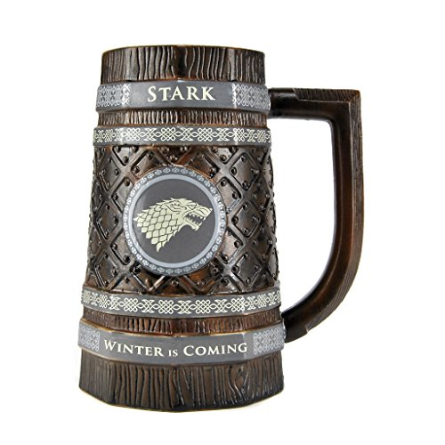 Game of Thrones geprägte Stein Becher - Stark