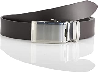 LINDENMANN LM leather belt for men leather belt made of cow leather, 33 mm wide and 3,6 mm strong, adjustable, belt, leath...
