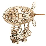 Rolife 3D Puzzles Wooden Puzzles Gifts for Teens Airship