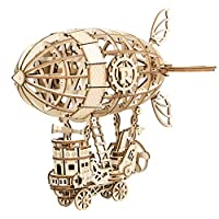 Rolife 飛行船 立体パズル 木製パズル 大人向け 初心者向けパズル 手作りおもちゃ クリスマスプレゼント 知育玩具 子供 彼女 女の子 誕生日 ギフト 贈り物……