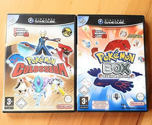 Pokémon Colosseum, (inkl. Pokémon Box Spiel-CD)
