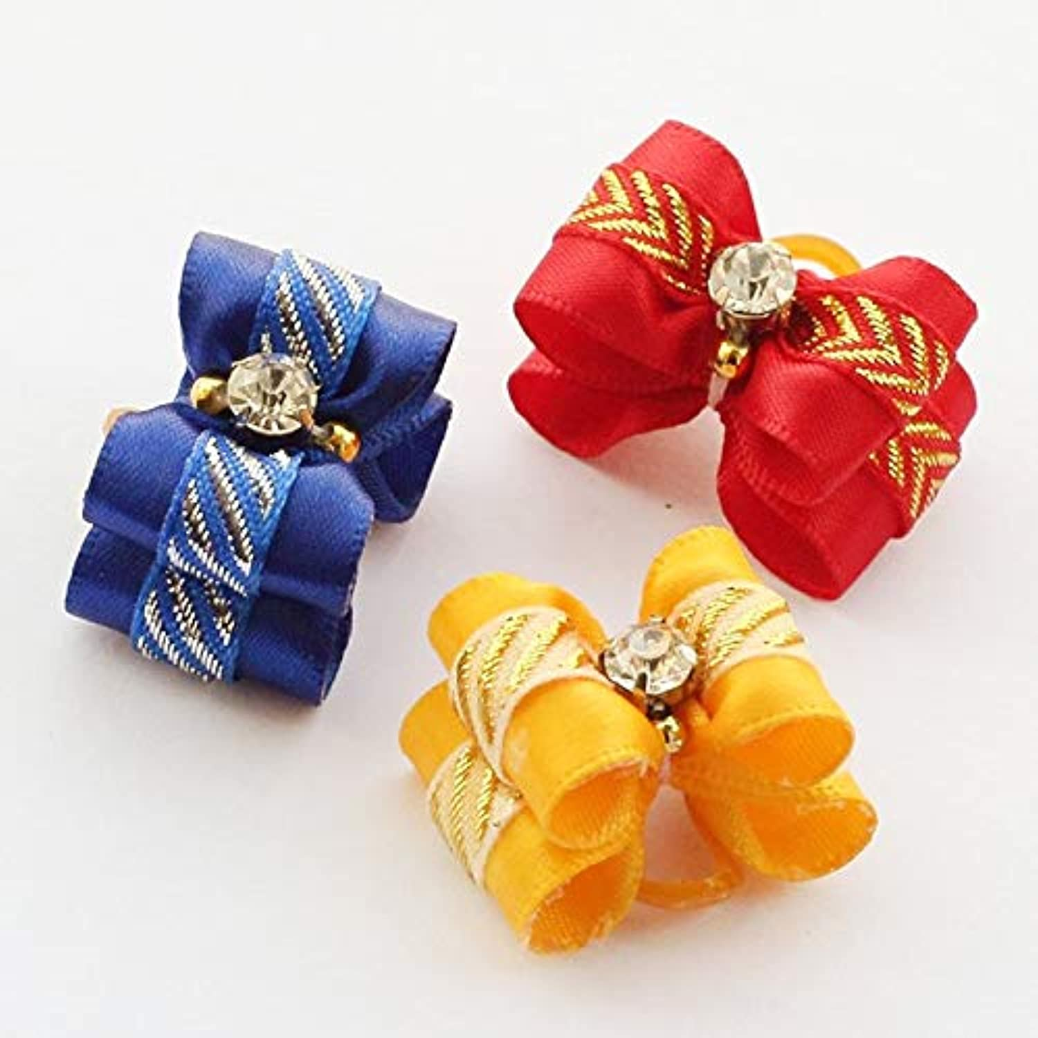 Bow Tie Accessories  Store Handmade Ribbon Hair Dog Bow Dogs Grooming Bows 6021030 Small Pet Wholesale  Men for Dog Women Collar